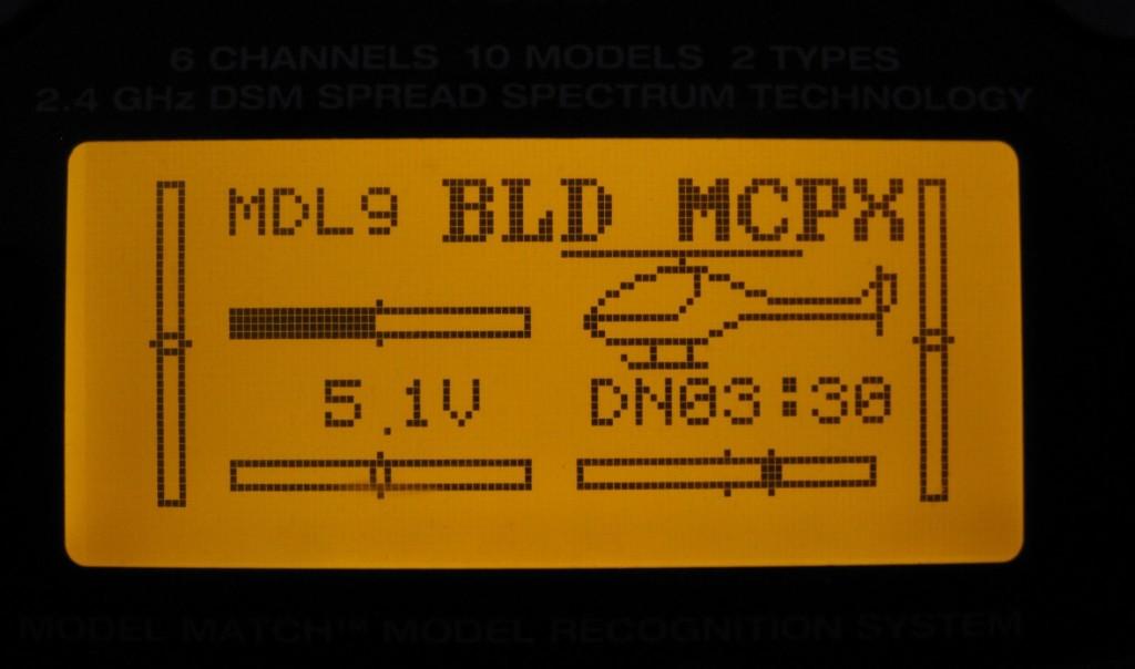 Podsviceni DX6i - Backlight DX6i