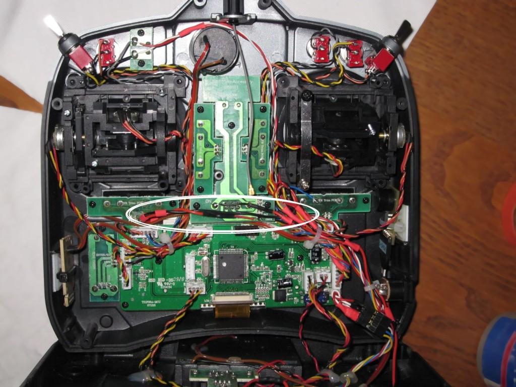 Podsviceni DX6i - Backlight DX6i - wiring
