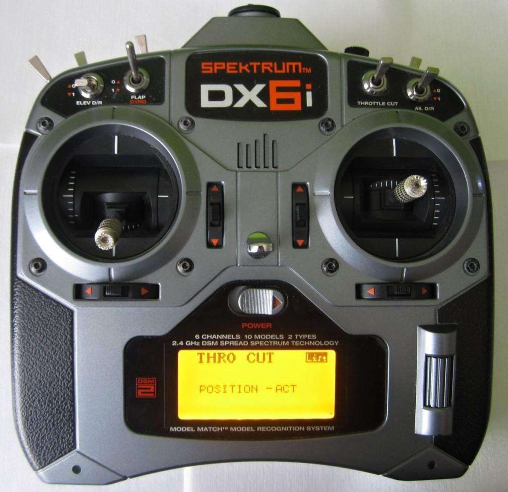 DX6i throttle hold acro mode