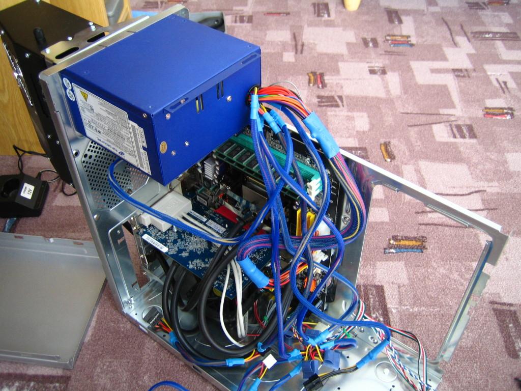 Úprava PC pro vodní chlazení
