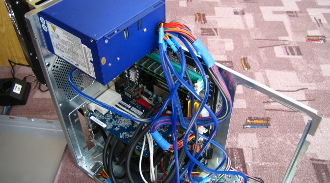 Přestavba PC na vodní chlazení
