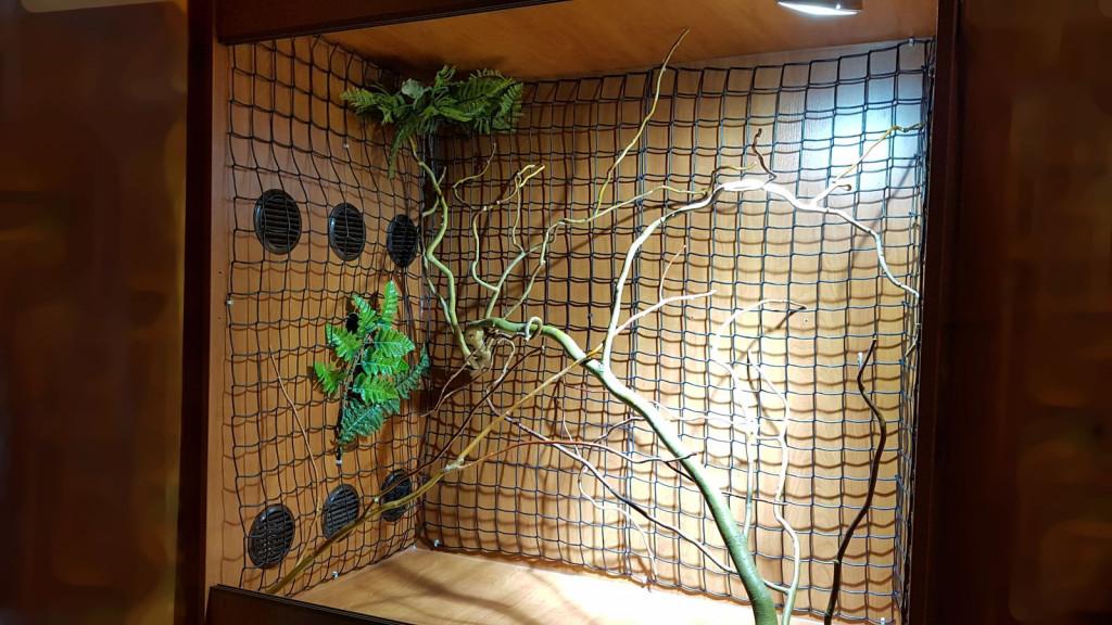 Terárium chameleon pletivo