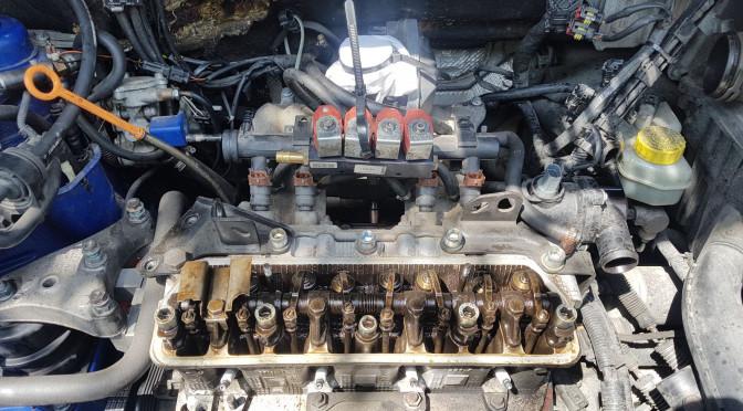 Základní nastavení hydraulického vyrovnávání ventilové vůle, nastavení hydroštelů Fabia 1.4 MPI