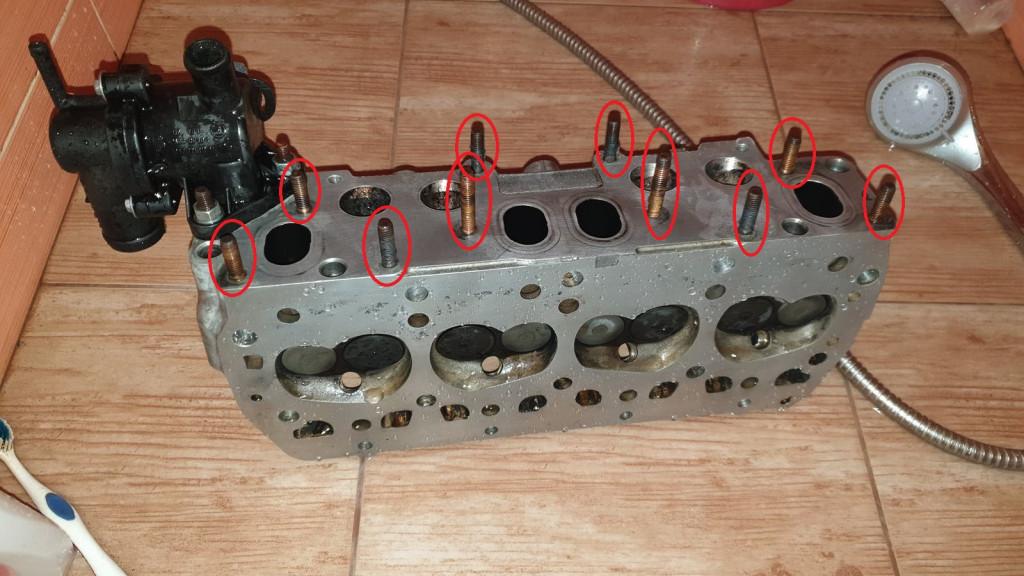 Fabia 1.4 MPI, výměna těsnění pod hlavou (88x2)